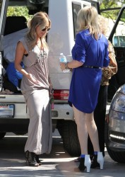 Ashley Tisdale - At her mothers house in Toluca Lake 9/29/13