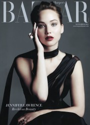 Jennifer Lawrence in Harper's Bazaar UK - November 2013