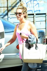 Ashley Tisdale - Leaving pilates class in Studio City 9/30/13