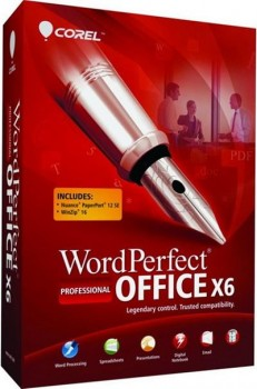Corel WordPerfect Office X6 Professional SP2 v16.0.0.428(Nov-2013)