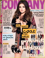 Lucy Hale in Company Magazine - November 2013