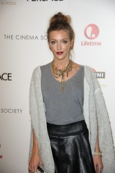 Katie Cassidy - 'House of Versace' Screening in NYC 10/3/13