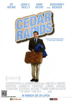 Przód ulotki filmu 'Cedar Rapids'