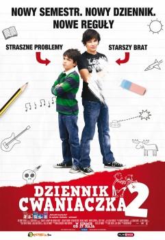 Polski plakat filmu 'Dziennik Cwaniaczka 2'