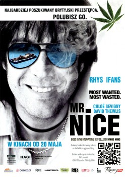 Przód ulotki filmu 'Mr. Nice'