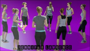 Jennifer Lawrence - Spandex Shrine Widescreen Wallpaper