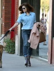Eva Mendes - Out in West Hollywood 10/16/13