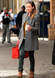 Olivia Wilde - out in NYC 10/16/13