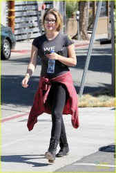 Ashley Benson - out in LA 10/19/13