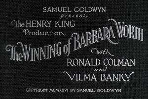 Download The Winning of Barbara Worth (1926) Uncompressed DVD5 - Silent We Torrent