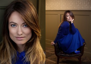 Olivia Wilde photographed by Stephanie Diani for The Guardian