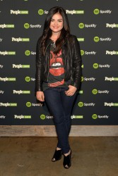 Lucy Hale - Spotify and People Country Present Jennifer Nettles And Friends Live In Nashville 11/3/13