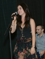 Lucy Hale - performs at the VIP Showcase in Nashville 11/4/13