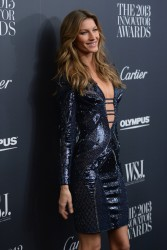 "Gisele Bundchen - 2013 ""Innovator Of The Year"" Awards in NYC 11/6/13"