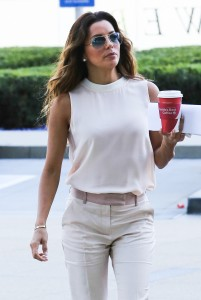 7c83cc287254324 Eva Longoria – out and about candids in Century City