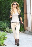 Audrina Patridge - Leaving a hair salon in West Hollywood 11/7/13