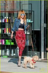 Bella Thorne - out in LA 11/11/13