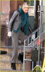 "Cameron Diaz - Filming ""Annie"" in NYC 11/13/13"