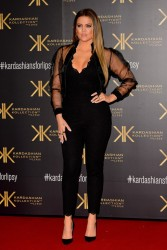 Khloe Kardashian - Kardashian Kollection for Lipsy London Launch in London 11/14/13