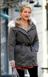 Cameron Diaz - on the set of 'Annie' in NYC 11/14/13