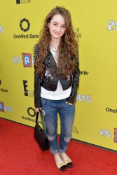 Kaitlyn Dever - P.S. Arts Express Yourself 2013 in Santa Monica 11/17/13