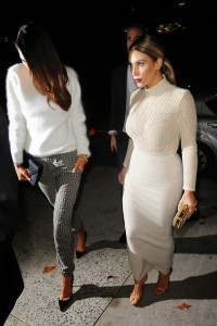 3a4c7b290002281 Kim Kardashian and Kendall Jenner – out and about *see thru* candids in New York