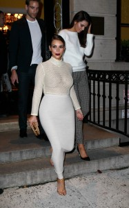 f16769290002202 Kim Kardashian and Kendall Jenner – out and about *see thru* candids in New York