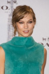 Karlie Kloss - Coach Boutique opening in Madrid 11/20/13