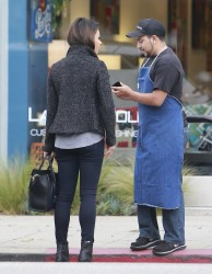 Mila Kunis - Shopping in LA 11/20/13