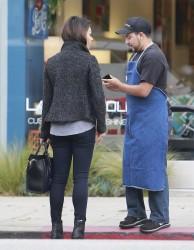 Mila Kunis - Shopping in LA 11/20/13