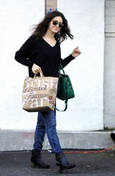 Emmy Rossum - at Bristol Farms in LA 11/19/13