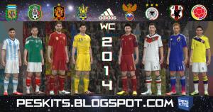 World Cup 2014 All Adidas Kits Gdb