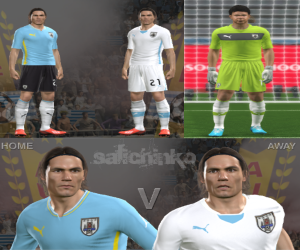 download Uruguay Kits GDB World Cup 2014