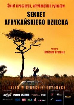 Przód ulotki filmu 'Sekret Afrykańskiego Dziecka'