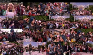 Demi Lovato - Neon Lights [The View 11-22-13] (720p)