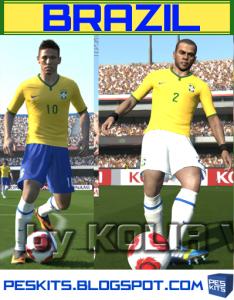 pes Brasil 2014 Kits by Kolia V.