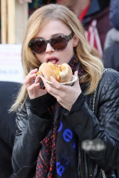Chloe Moretz at the Vancouver Christmas Market - November 24, 2013