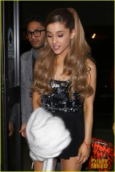 Ariana Grande - At LAX Airport 11/24/13