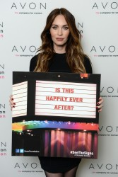 Megan Fox - Launches the Avon Foundation 11/25/13