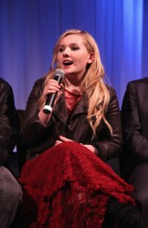 Abigail Breslin - 'August: Osage County' Official Academy Members Screening in NYC 11/25/13