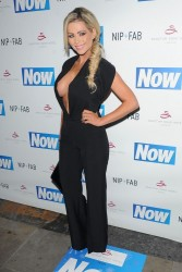 Nicola McLean - Now Magazine Christmas Party in London 11/26/13
