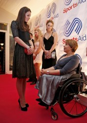 Catherine, Duchess of Cambridge - The SportsAid Annual Dinner in London 11/28/13
