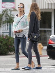 Alessandra Ambrosio - out in Brentwood 11/28/13