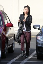 b760fa291662738 [Ultra HQ] Brenda Song   out in Studio City 11/26/13 high resolution candids