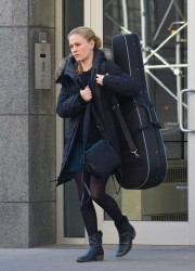 Anna Paquin - Out in NYC 12/1/13