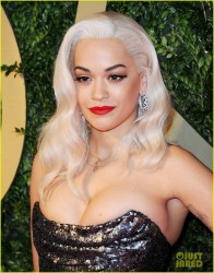 Rita Ora - 2013 British Fashion Awards in London 12/2/13