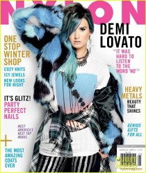 Demi Lovato - Nylon Magazine December/January 2014