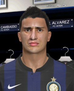 download Ishak Belfodil [Inter] Face By Juan71