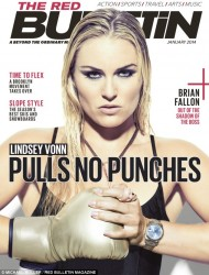 Lindsey Vonn - Red Bulletin Jan 2014