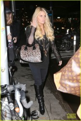 Jessica Simpson - Out in NYC 12/2/13